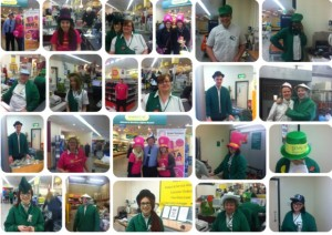 Morrisons staff took part in the Brain Tumour awareness event